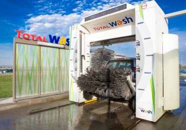station TOTAL Wash lavage rouleaux