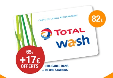 Carte total wash