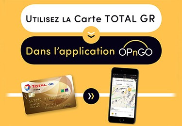Carte TOTAL GR & OPnGO