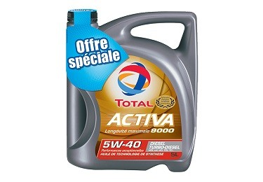 TOTAL ACTIVA 9000 5W-40
