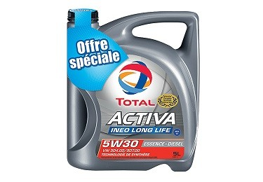 TOTAL ACTIVA INEO LONG LIFE 5W-30
