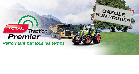 TOTAL Traction Premier gazole non routier