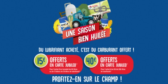 offre promotionnelle agricole Elf Jubileo
