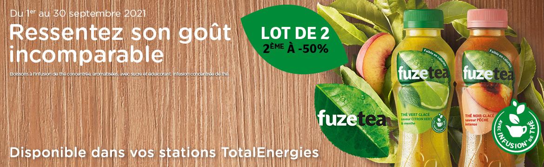 Promo fuze tea